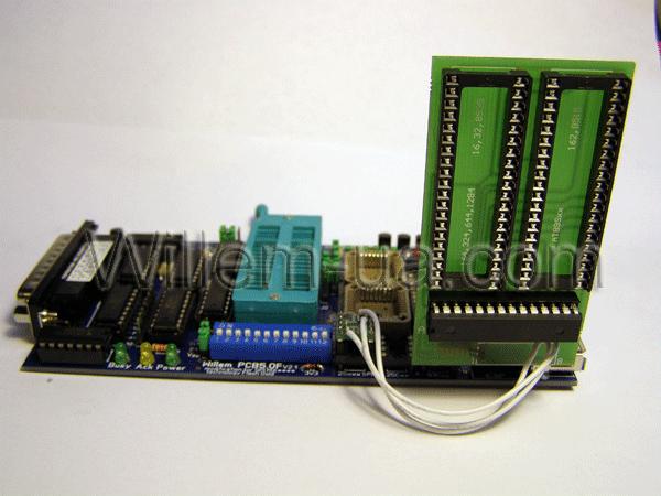 Адаптер ATMEGA_A1 + ATtiny_А1 (Ezo) для программатора PCB5F.