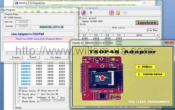 MiniPro_TL866 View_Adapter