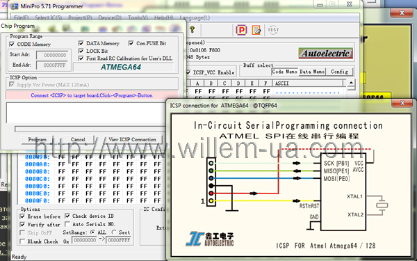 MiniPro_TL866A View_ICSP