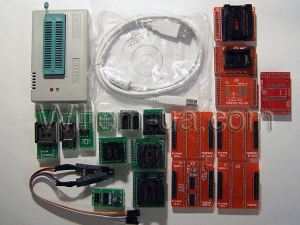 Комплектация максимальная MiniPro TL866A