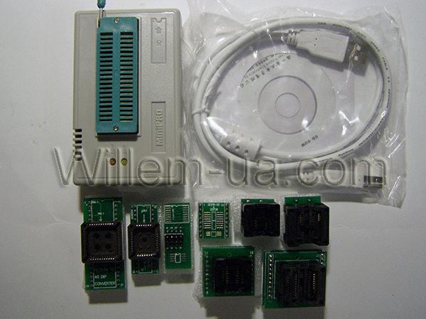 Комплектация максимальная MiniPro TL866CS