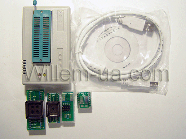 Комплектация средняя MiniPro TL866CS